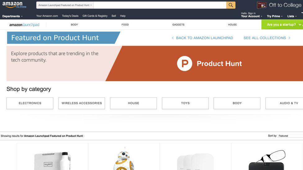Product Hunt on Amazon