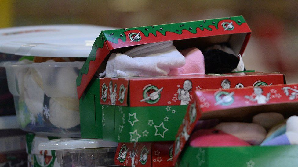 Christmas shoebox children gifts 'not sustainable'