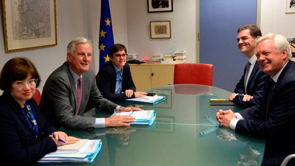 UK and EU negotiators