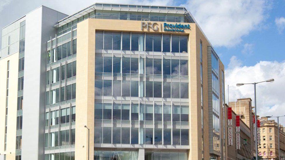 Provident Financial's office in Bradford