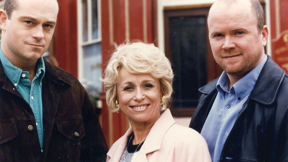 Ross Kemp, Barbara Windsor and Steve McFadden in EastEnders