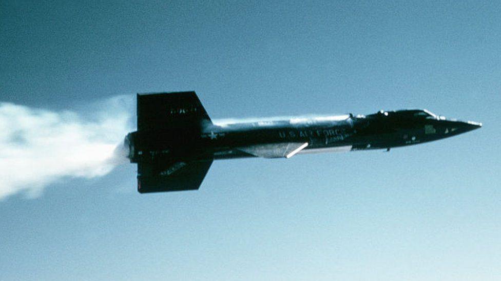 X-15 plane