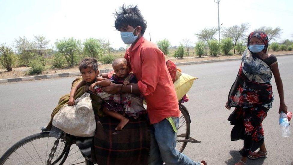 भारतीय प्रवासी मज़दूर