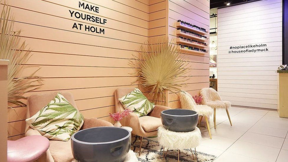 House of Lady Muck beauty salon in Topshop Oxford Street