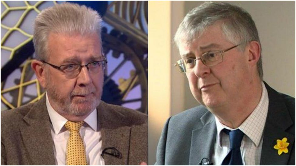 Mike Russell and Mark Drakeford