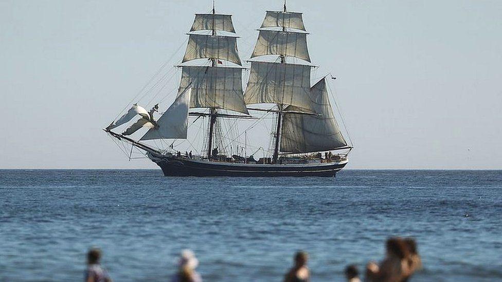 Tall Ships at Blyth