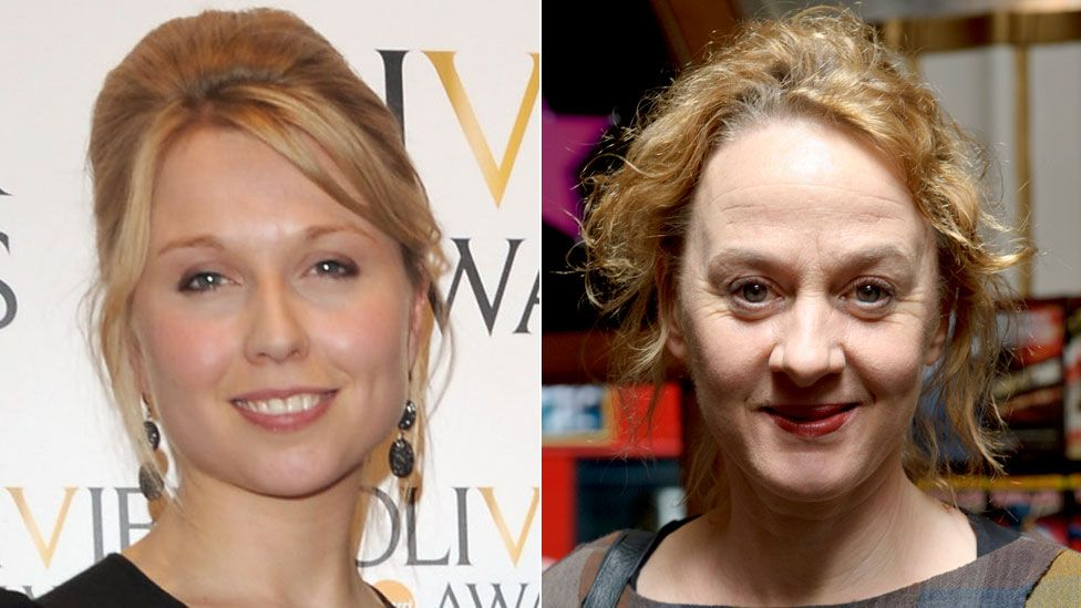 Polly Findlay and Niamh Cusack