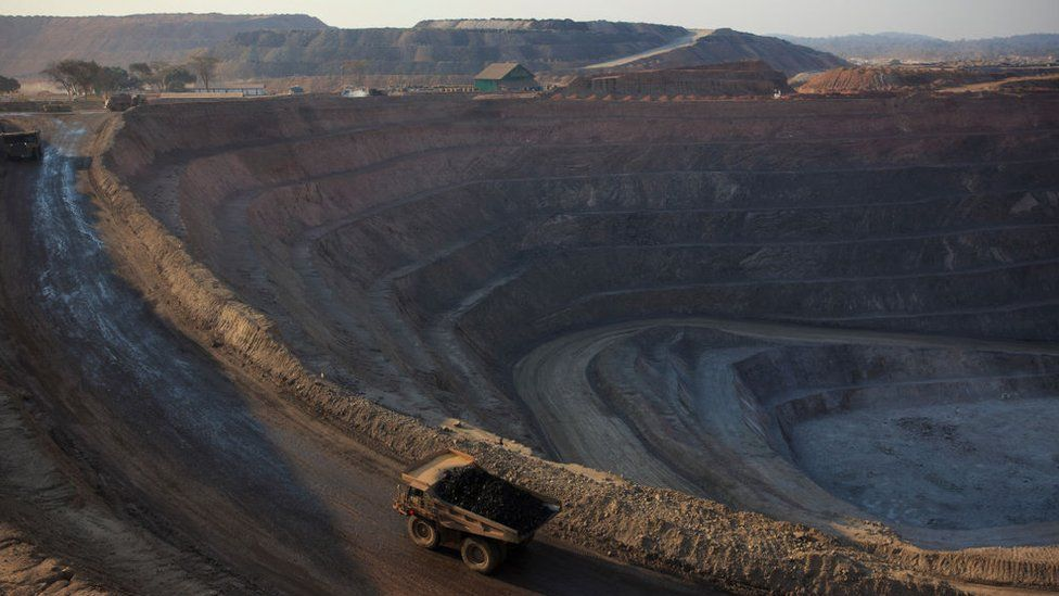 Glencore copper mine
