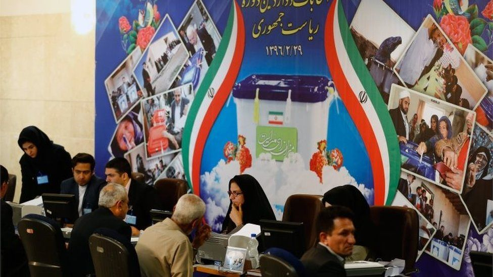 Candidates register for the Iranian presidential elections (11/04/17)