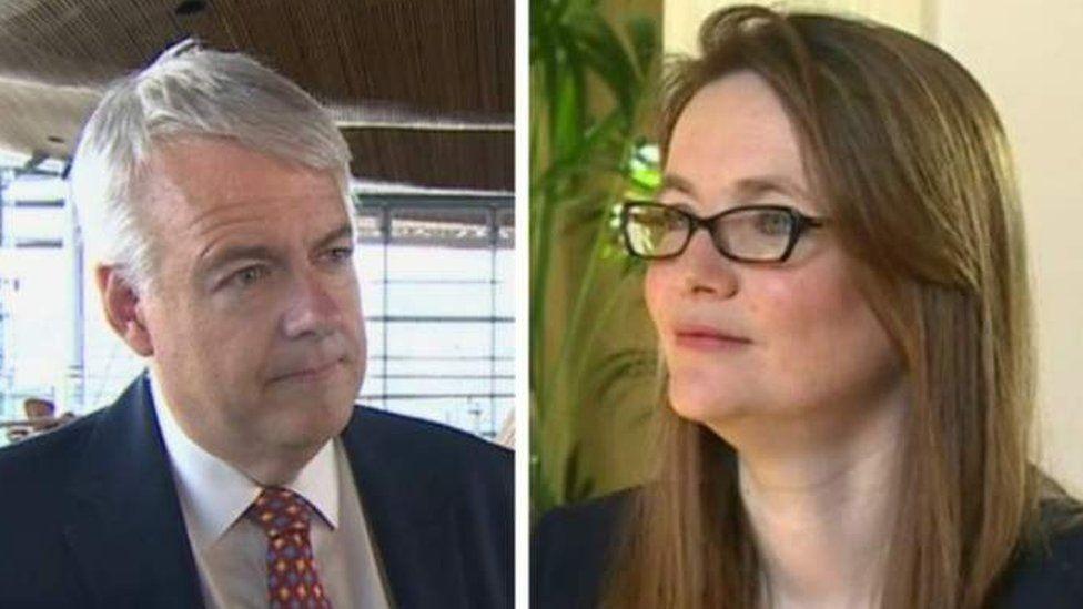 CArwyn a Kirsty