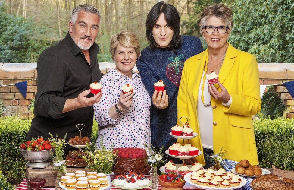 The Great British Bake Off's Channel 4 line-up