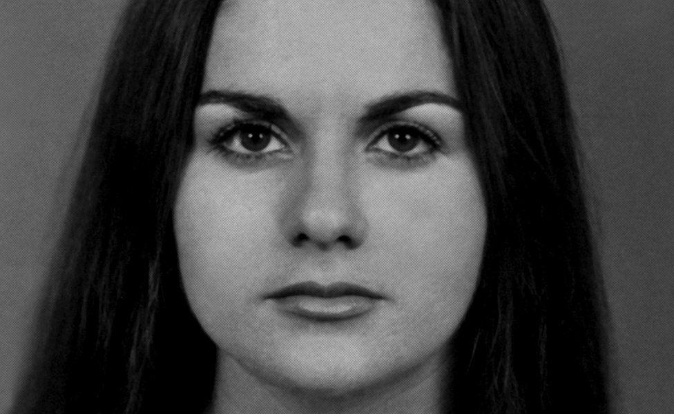 The young Maria da Penha