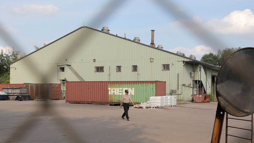 Warehouse used by US embassy in Moscow, 28 Jul 17