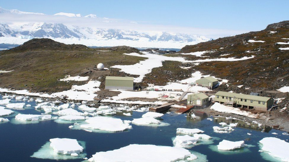 British Antarctic Survey base