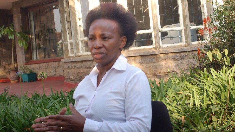 Jane Ngige, head of the Kenya Flower Council