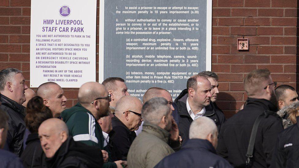 HMP Liverpool strike 2019