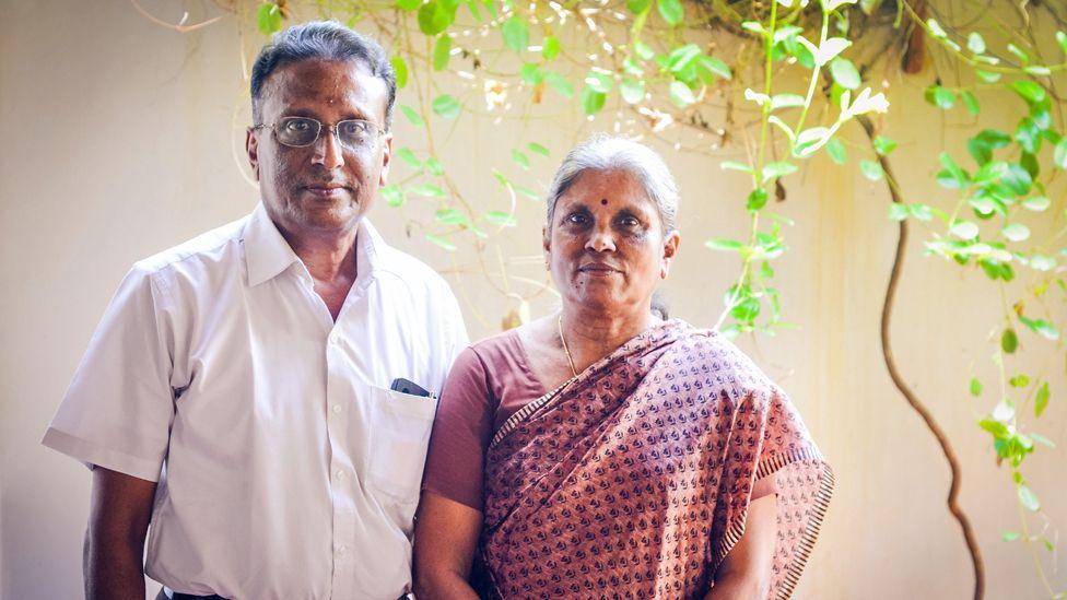 Sellappan Nirmala and her husband Veerappan Ramamoorthi