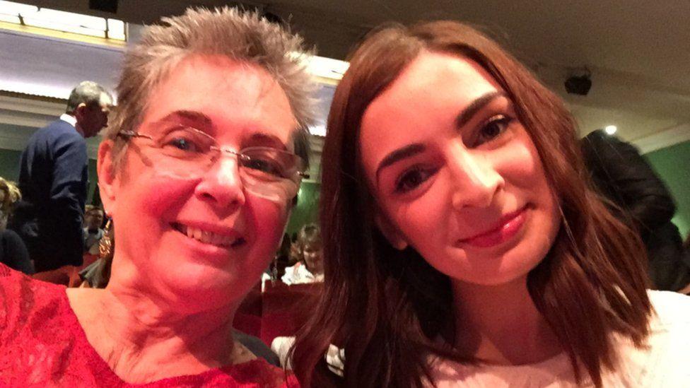 Joan Lockhart and her daughter Ryan