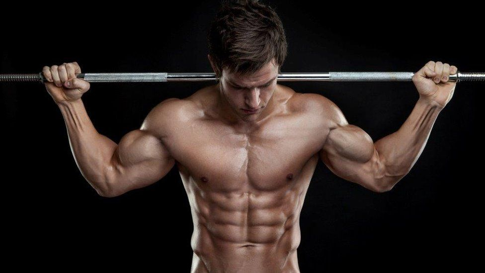 Male weight trainer