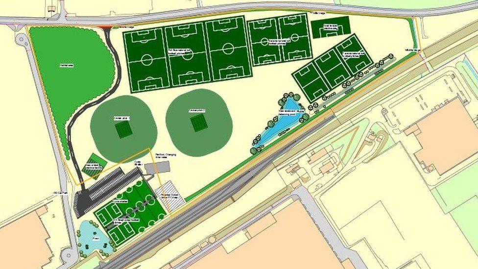 Sports park designs