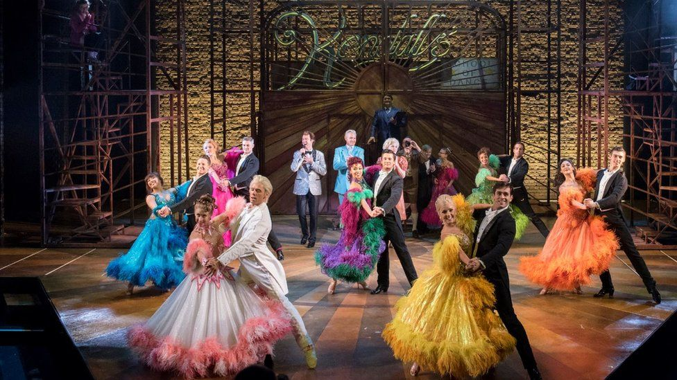 Strictly Ballroom on stage