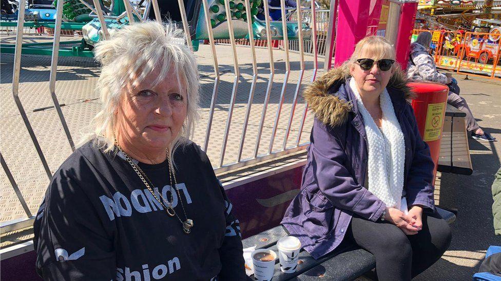 Sheila Gordon, 61, and Beverley Wooding, 62