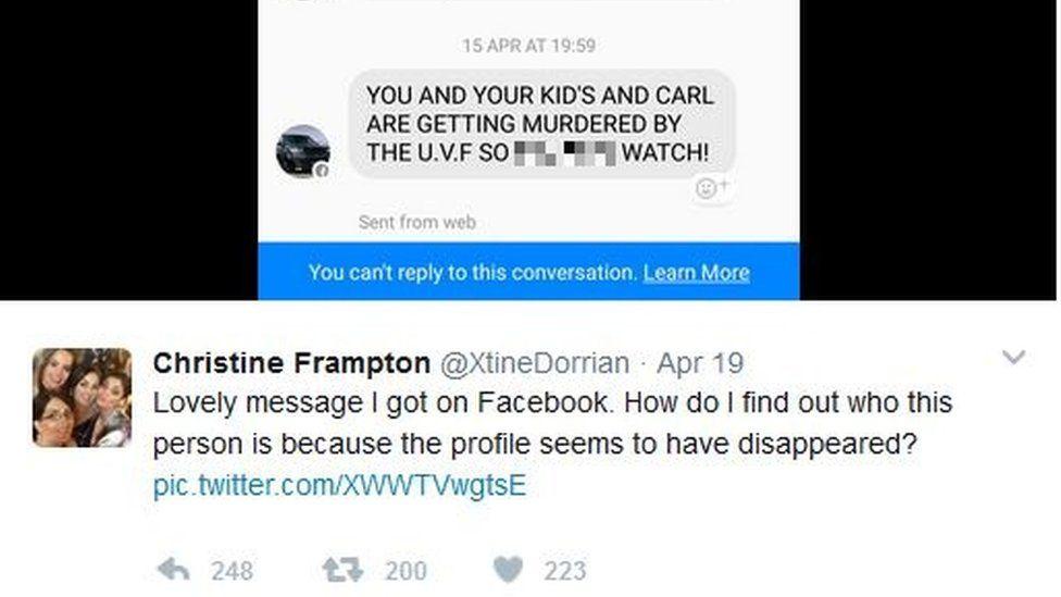 Christine Frampton tweet