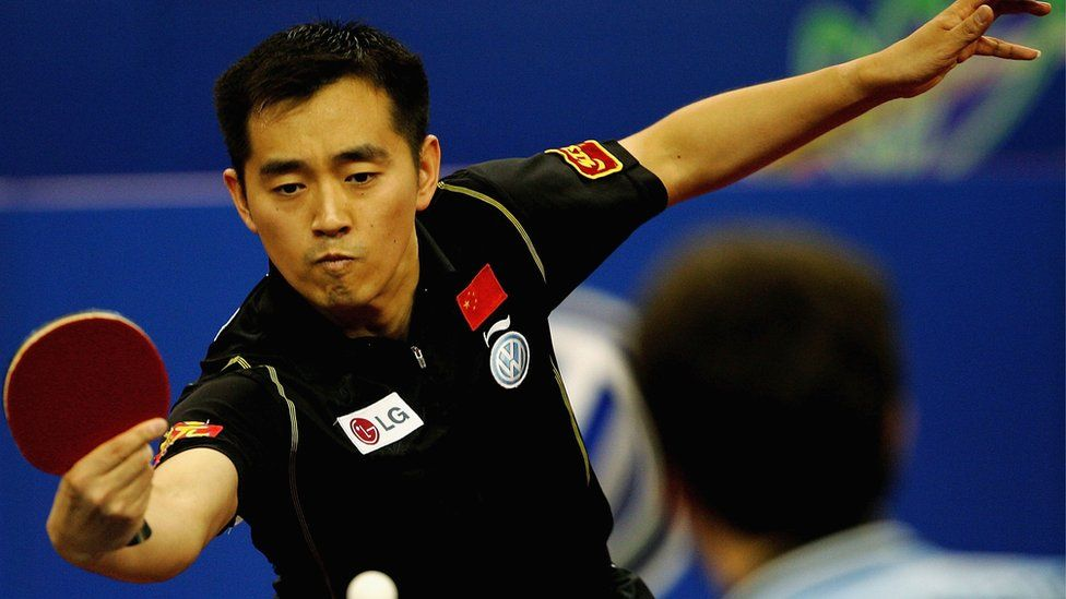 Ping Pong Ding Dong China Champion Sued Over Casino Debts Bbc News