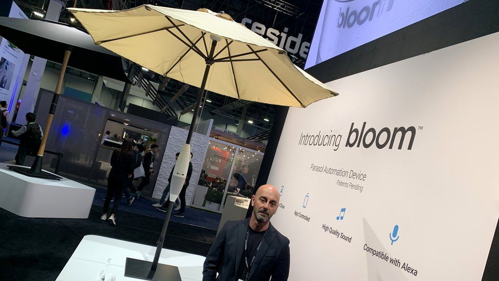 Bloom Parasol on show at CES