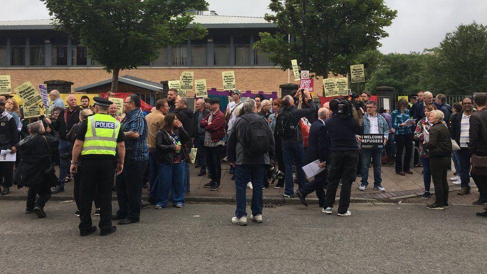 Glasgow demonstration