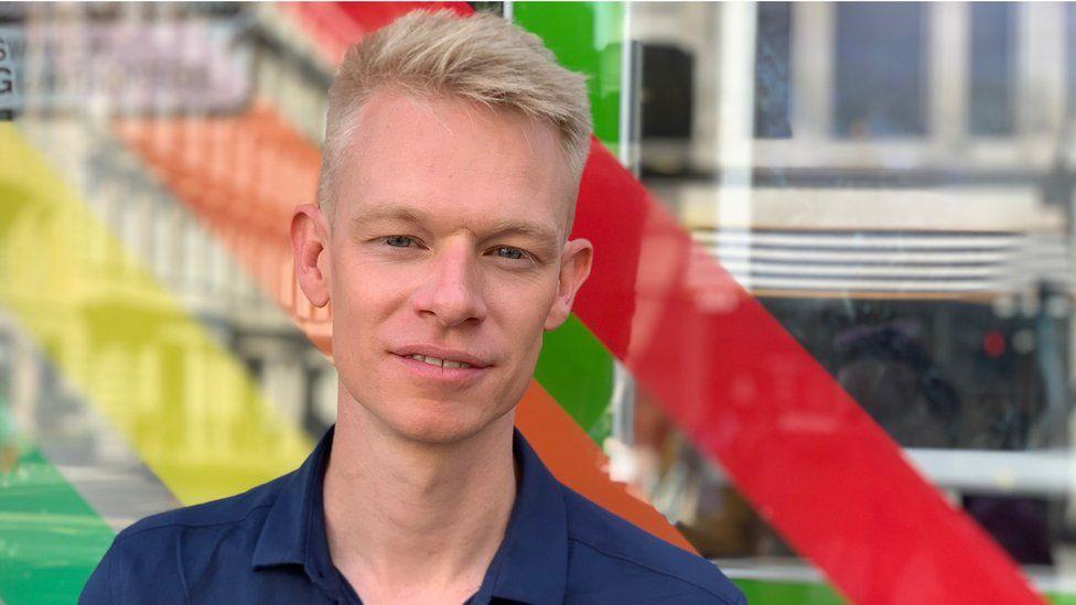 Tom Stevens from Pride in London
