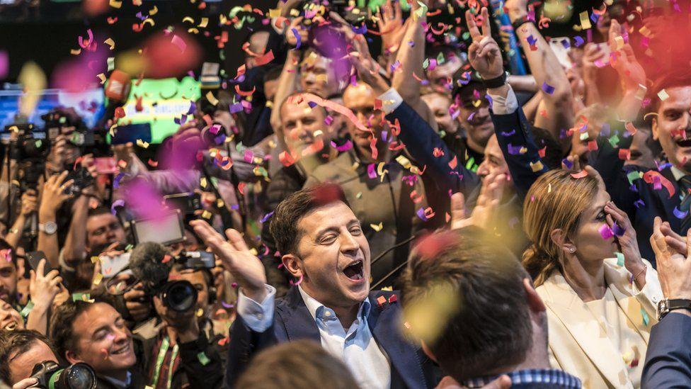 Как Украина выбрала президентом Владимира Зеленского