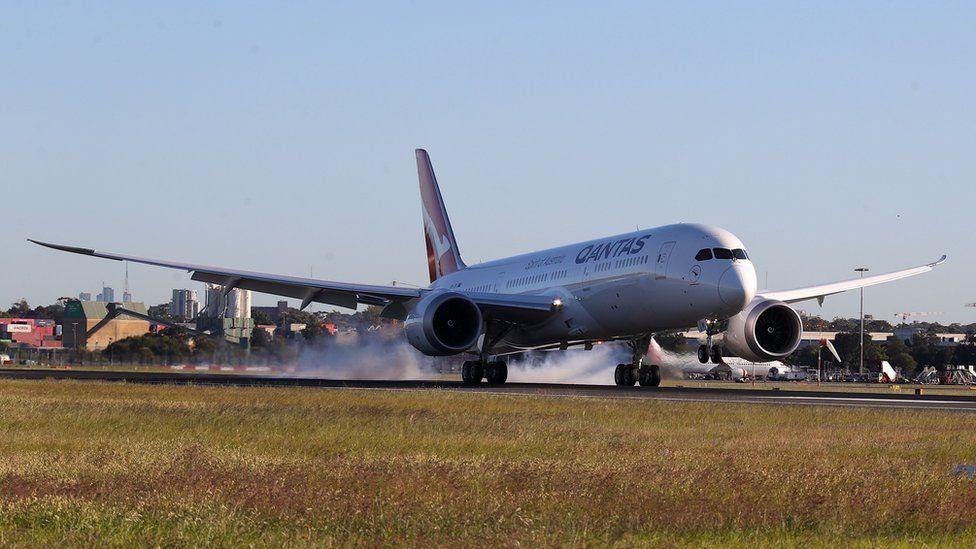 كانتاس الأسترالية تختبر أطول رحلة جوية تجارية دون توقف