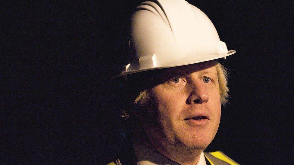 Boris in hard hat