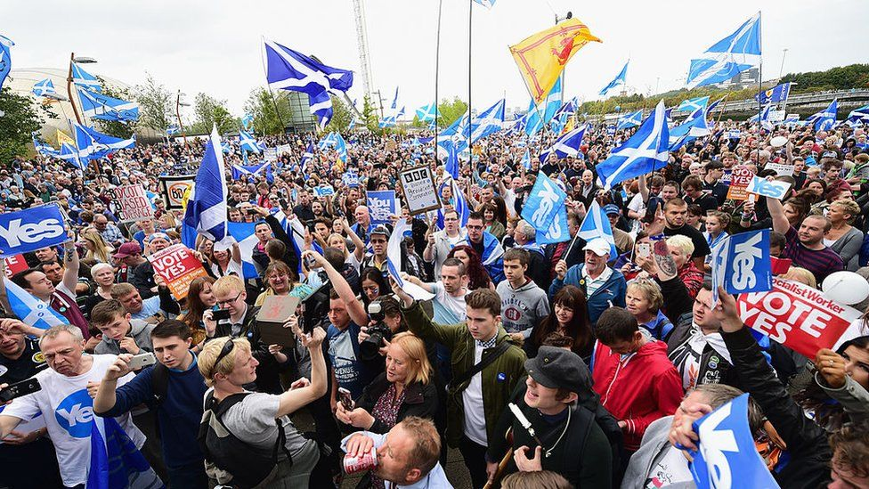 independence rally