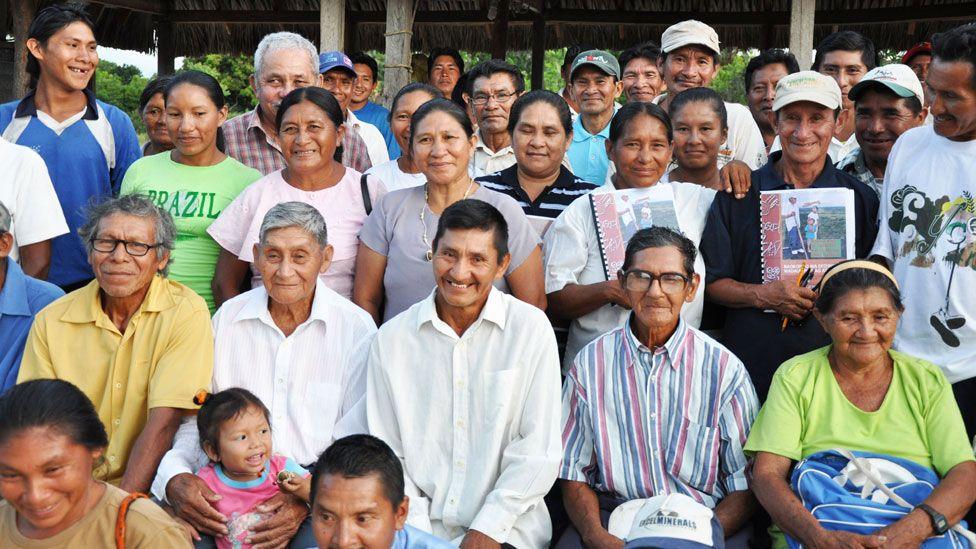 A Wapichan community in Guyana