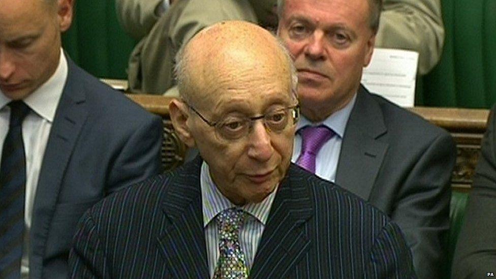 The late Sir Gerald Kaufman