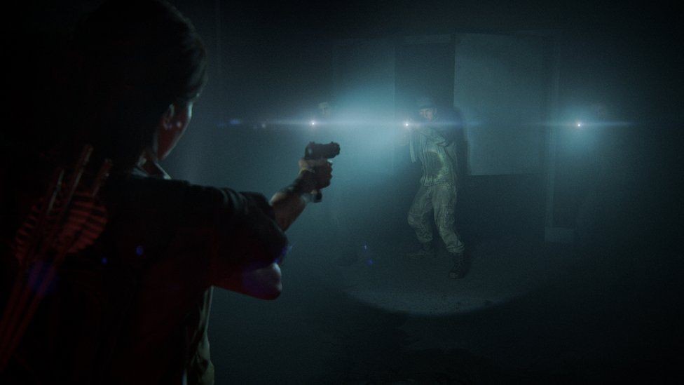 Gameplay from The Last of Us 2