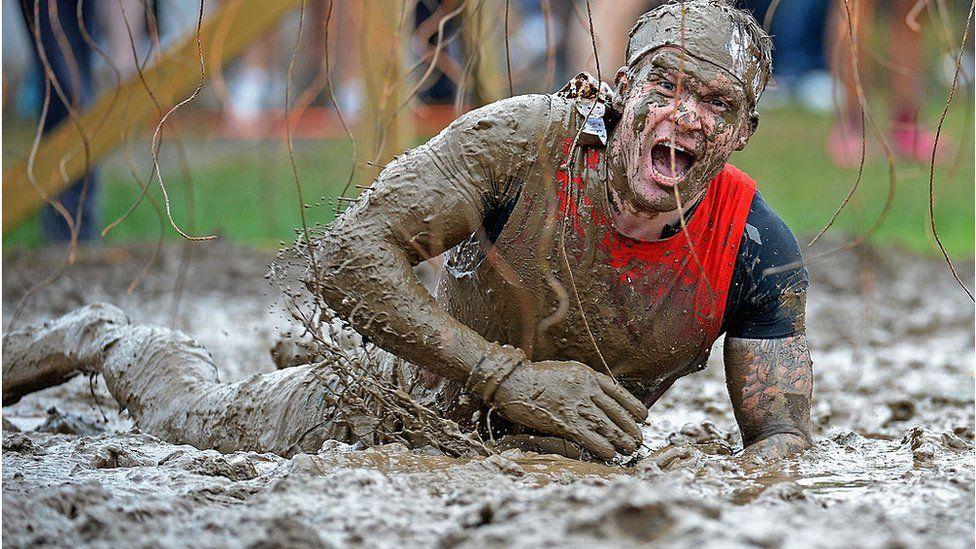tough mudder competitor
