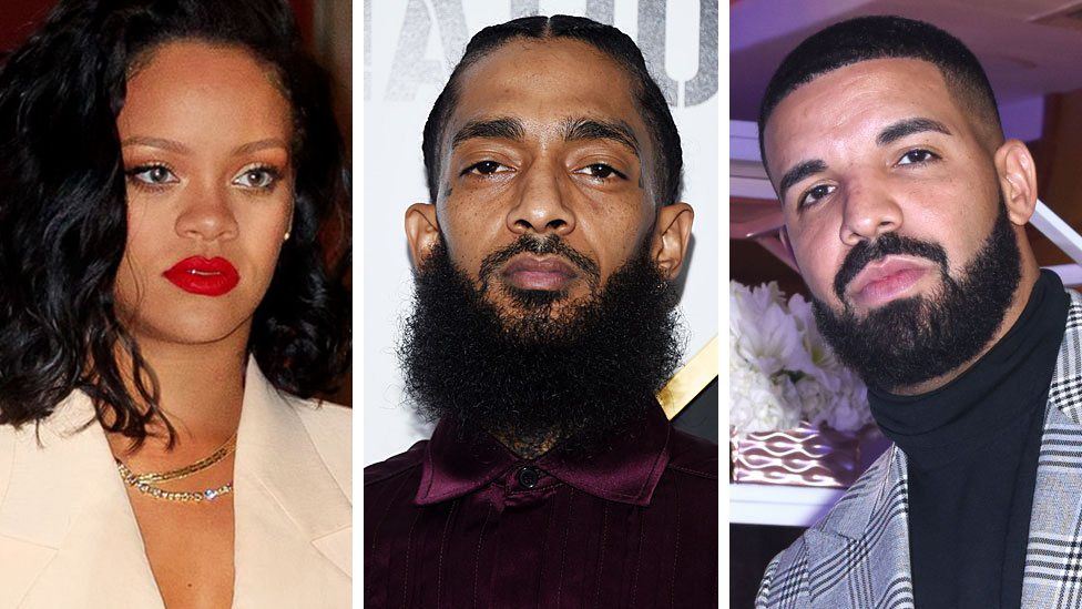 Conspiracy theories spread after Nipsey Hussle shooting