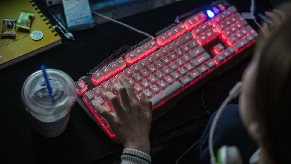 Person using computer (file photo)