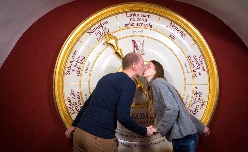 Love-o-meter at House of Marina
