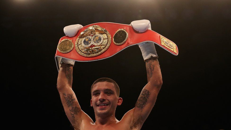 IBF featherweight champion Lee Selby