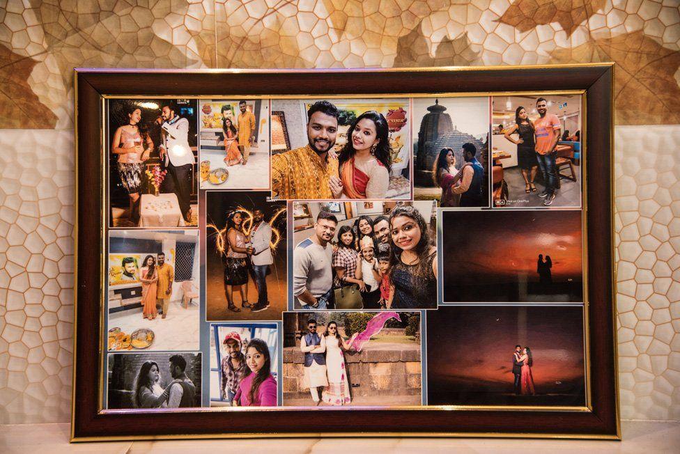 Fotos de Sudeep y Bhagyashree