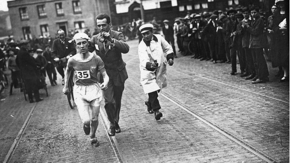 Marathon in 1924
