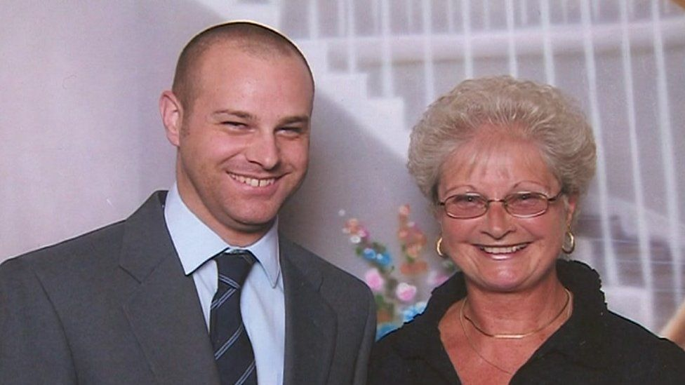James and his mother