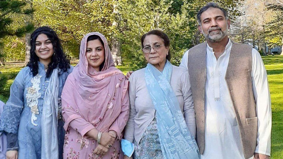 Afzaal-Salman family
