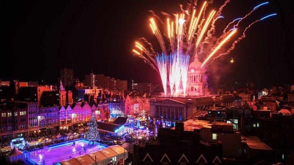 Nottingham's new year celebrations