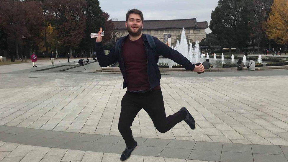 James Godwin, 21 who was made redundant