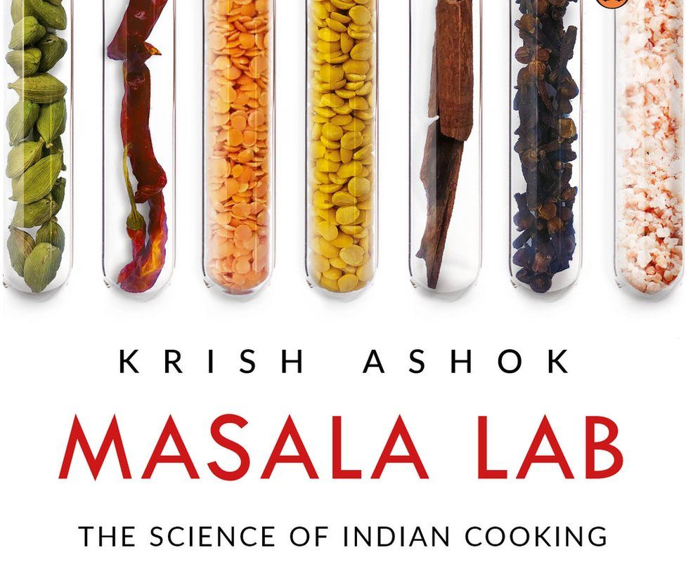 A cover of the book, Masala Lab